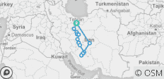 Cycle Iran - 15 destinations