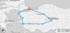 Highlights of Turkey - 10 days - 14 destinations