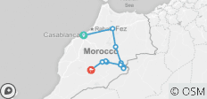 Morocco Sahara Camel Caravan Expedition - 12 destinations