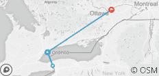Toronto & Ottawa Welcome Package - 4 destinations