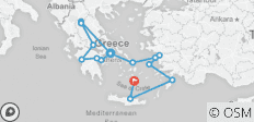 Greek Explorer & Cruise - 14 Days - 15 destinations