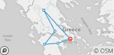 Wonders of Ancient Greece - 7 Days - 6 destinations