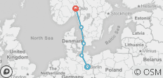 Berlin To Oslo - 5 destinations