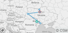 Europe\'s Frontier: Moldova & Ukraine - 7 destinations