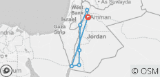 Highlights of Jordan - 7 destinations