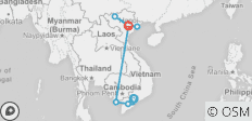 Vietnam Homeland from South to North - 9 destinations