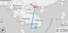 Vietnam Homeland from South to North - 10 destinations