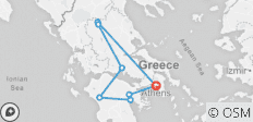 Greece Classic Tour - 8 destinations