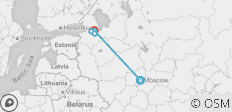 Mini Stay Moscow and St Petersburg - 5 days - 5 destinations