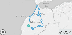 Highlights of Morocco from Marrakech - 19 destinations