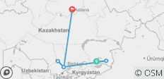 Best of Kazakhstan Tour - 6 destinations