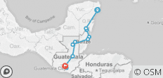 Mexico, Belize & Guatemala Adventure 14D/13N (from Cancun) - 11 destinations