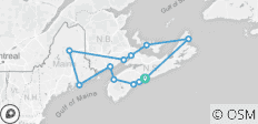 Walking the Canadian Maritimes - 12 destinations