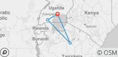 Uganda Gorilla Short Break: Original - 4 destinations