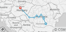 5 Days Transylvania Tour from Bucharest to Budapest - 10 destinations