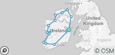 10 Day Ultimate small group Tour of Ireland - 14 destinations
