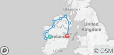 6 Day Wild West and North small group Tour of Ireland - 11 destinations
