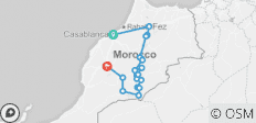 Morocco Peaks and Valleys Hiking Trek - 18 destinations
