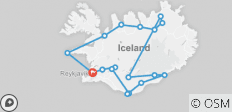 Across the Wilderness - Icelandic Interior and More - 18 destinations