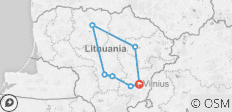 5 Day Highlights Of Lithuania Weekend Break - 7 destinations