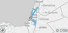 Jewish 5 days tour - 13 destinations