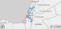 Jewish Israel Tour Package, 5 Days - 11 destinations