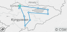 Colors of Kyrgyzstan 2019 - 11 destinations
