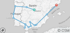 Iberian Splendours 2019 (Start Madrid, End Barcelona) - 15 destinations