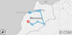 Morocco Highlights - 8 Day - 9 destinations
