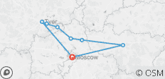 Russia: Moscow and Beyond Guided Cycle - 8 destinations