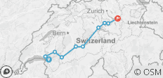 Swiss Lakes Cycle - 10 destinations