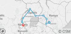 Gorillas & Masai Mara - Lodges - 10 destinations