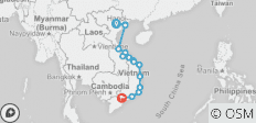 Cruising the Coast of Vietnam: North to South - 15 destinations