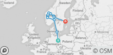Scandinavia (End Stockholm, Start Berlin, 9 Days) - 11 destinations