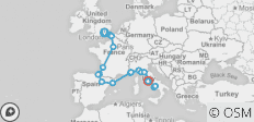 Quest To Rome (17 Days) - 21 destinations