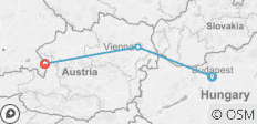 Budapest, Vienna & Salzburg - Meet Us There - 3 destinations