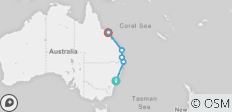 East Coast Cruisin (ex. Sydney) 2018-19 - 7 destinations