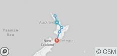Northern Explorer (Ex Auckland) 2019-20 - 6 destinations