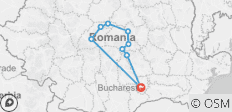 Amazing Romania - Seven day private tour from Bucharest - 9 destinations