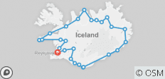 Glaciers and Aurora: Around Iceland in Winter - 26 destinations