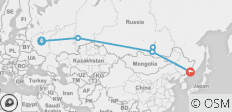 Russia Expedition - Winter Trans-Siberian Adventure - 6 destinations