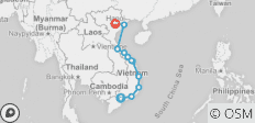 Cruising the Coast of Vietnam: South to North - 11 destinations