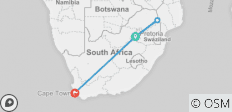 Kruger & Cape Town Short Break by Plane - 4 destinations