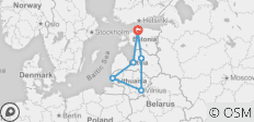 Small group 10 Days Baltic Highlights Loop (Guaranteed Departure) - 6 destinations