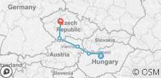 Easy Pace Budapest Vienna and Prague (2018, 11 Days) - 6 destinations