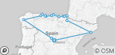 Northern Spain end Madrid (2018, 12 Days) - 16 destinations