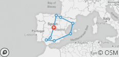 Spanish Spree (Summer, 14 Days) - 9 destinations