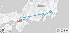 Essential Japan (from Tokyo to Osaka) - 7 destinations
