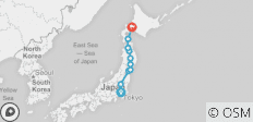 North Japan End Sapporo - 10 destinations