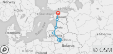 Highlights of Baltic States in 8 Days (Guaranteed Departure) - 7 destinations